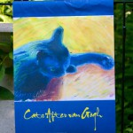 Back Garden Flag, Cats After Van Gogh