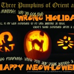 We Three Pumpkins