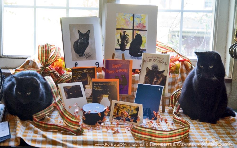 Mr. Sunshine and Jelly Bean present the October Feline Sampler Box.