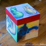 Cats After van Gogh Keepsake Cube