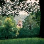 The Castle, pastel, 10 x 12, 2000 © Bernadette E. Kazmarski