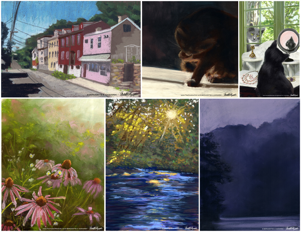 30 Paintings in 30 Days Gallery