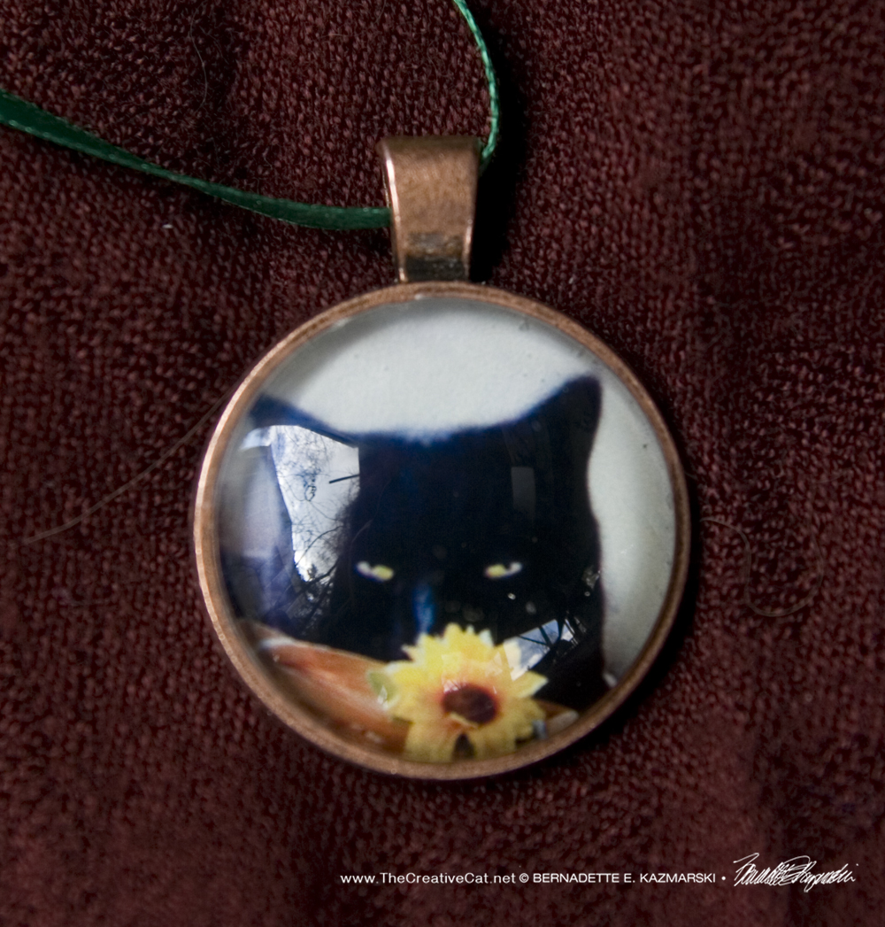 Flower Child Cabochon Pendant