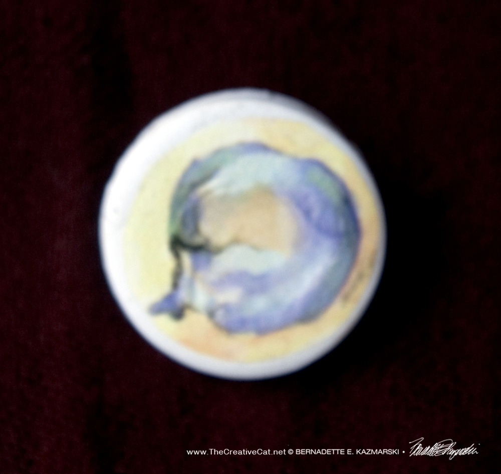 World Cat Pin
