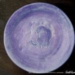 "Bath 6"" Decorative Dish in Violet"