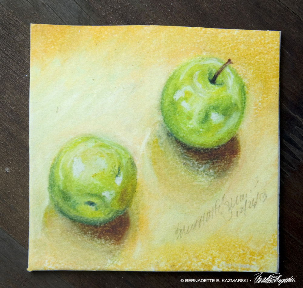 Afternoon Apples Tile