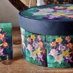 """Columbines"" Keepsake and Tile"