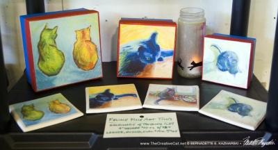 Cats After van Gogh items.
