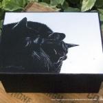Black and Light Keepsake Box