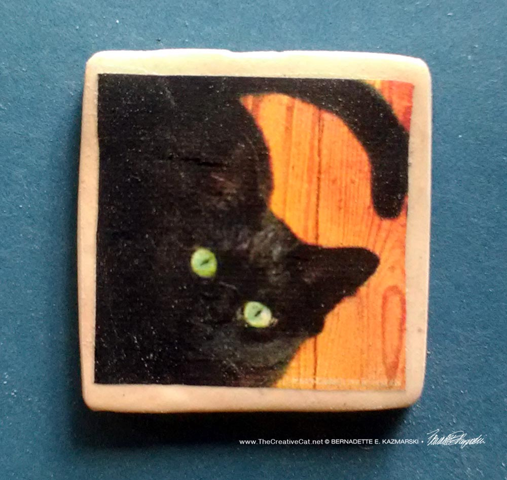 "The Eyes Have It 1"" Square Magnet"