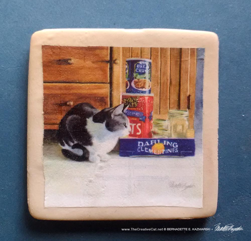 "Darling Clementine 2"" Square Magnet"