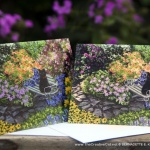 Mimi in the Formal Garden, Thank You and All-occasion Card
