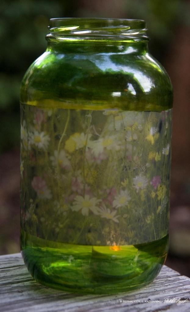 Summer Wildflowers votive