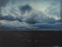 """Accepted Into an Exhibit, """"How Small Beneath the Sky"""""""