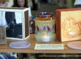Hold Jewelry, Memories or Just Stuff in Feline Vintage Cigar Box Keepsakes