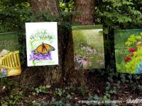 Four New Flowery Garden Flag Designs