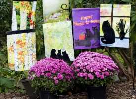 New Nature-themed Garden Flags