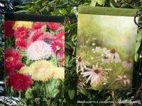Flowery, Summery Garden Flags