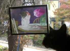 Suncatchers in Upcycled Picture Frames