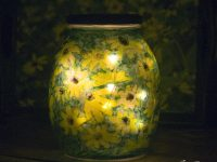 Upcycled Glass Jar Votives Get a New Look
